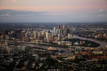 Brisbane Aerial View