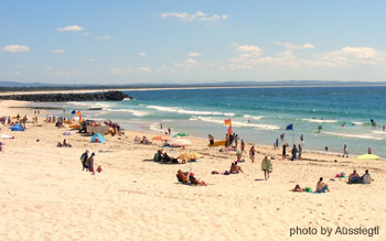 forster nsw beach
